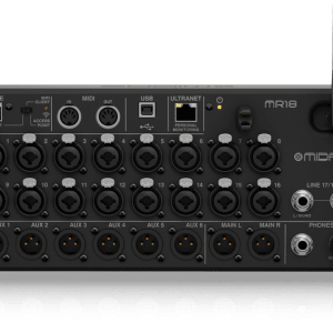 Midas MR18 18-Input Digital Mixer for iPad/Android